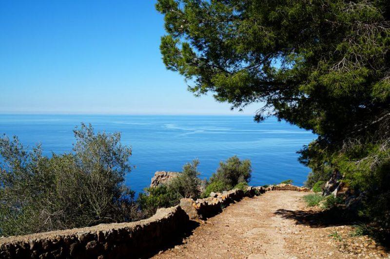 Wanderweg von Son Marroig nach Sa Foradada auf Mallorca