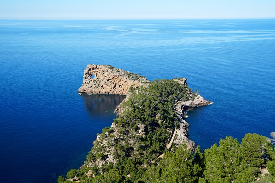 Wanderung von Son Marroig hinunter nach Sa Foradada auf Mallorca