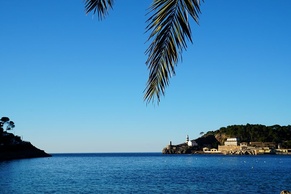 Port de Soller auf Mallorca im Winter