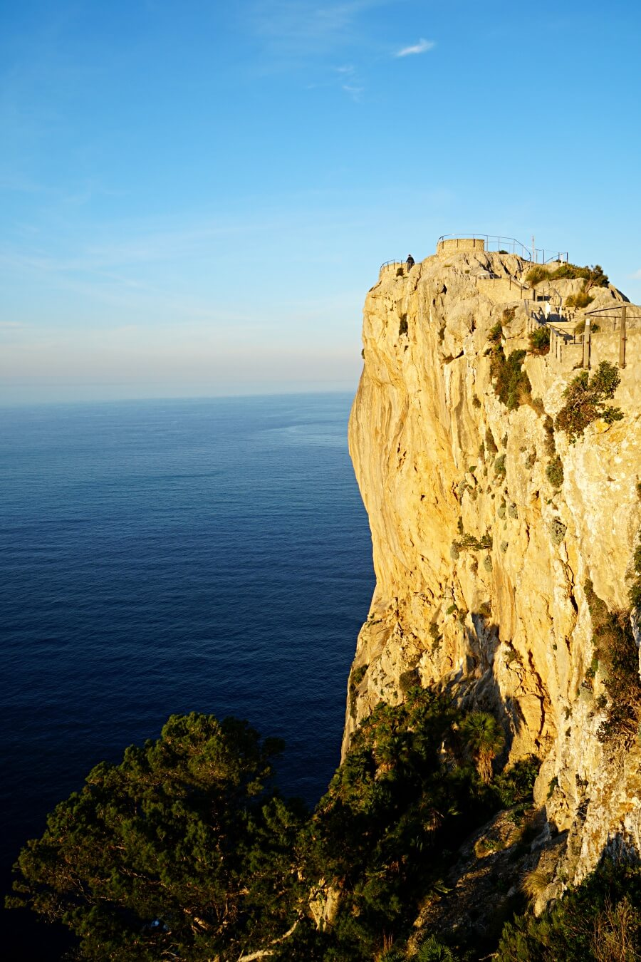 Mirador es Colomer am Cap de Formentor auf Mallorca