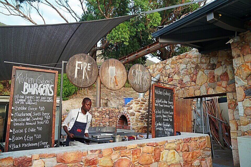 Markt auf den Cape Points Vineyards in Noordhoek bei Kapstadt
