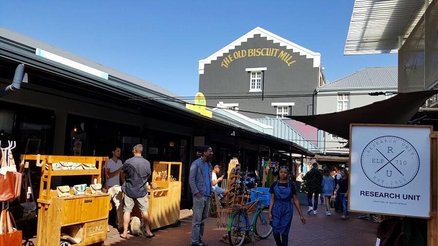 The Old Biscuit Mill in Woodstock bei Kapstadt
