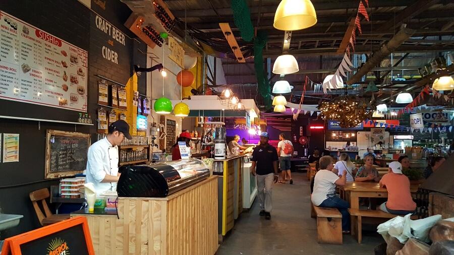 Der Bay Harbour Market in Hot Bay ist ein lohnenswerter Markt in Kapstadt
