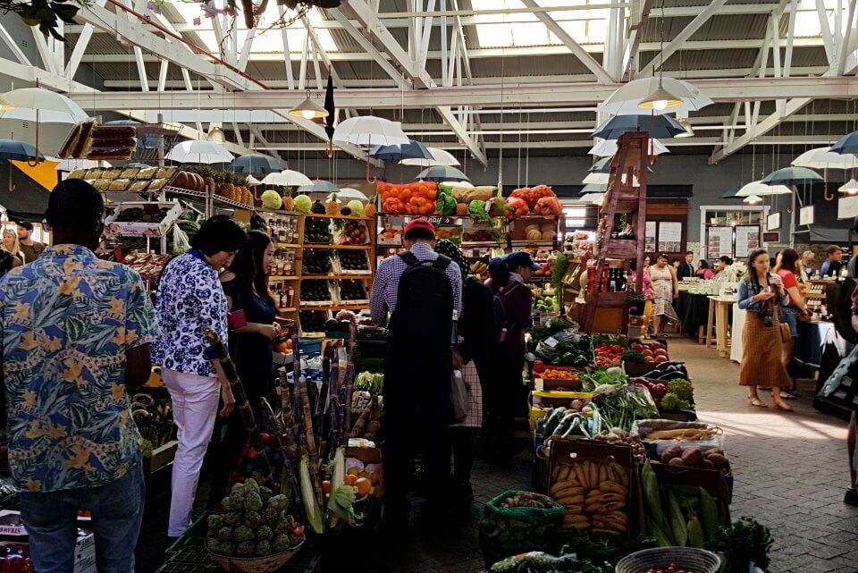 Der Neighbourgoods Market in Woodstock