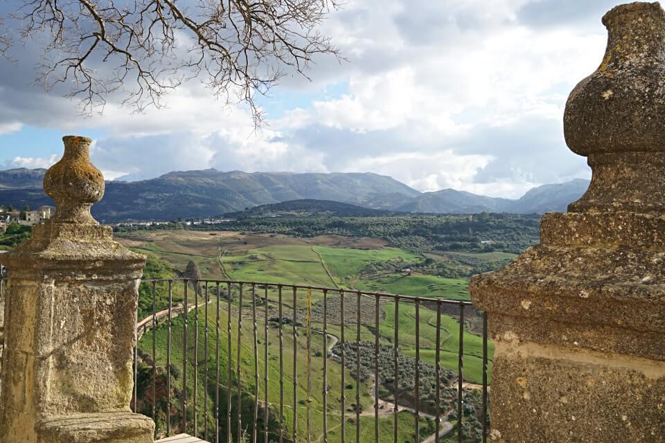 Ausblick von Ronda auf die Sierra de Grazalema
