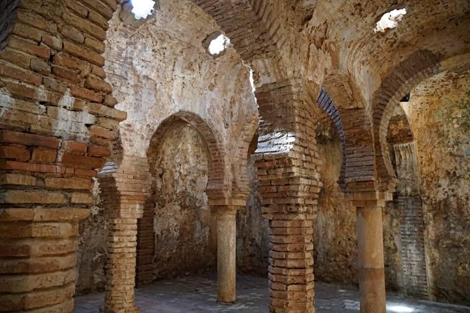 Die Arabischen Baeder in Ronda zaehlen zu den besterhaltenen in Spanien