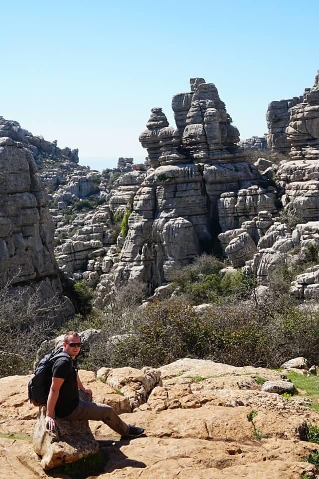 Wandern im Naturpark El Torcal de Antequera