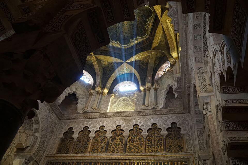 Das beeindruckende Innenleben der Mezquita in Cordoba