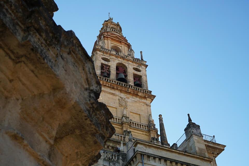 Der Glockenturm der Mezquita de Cordoba war urspruenglich das Minarett der Moschee