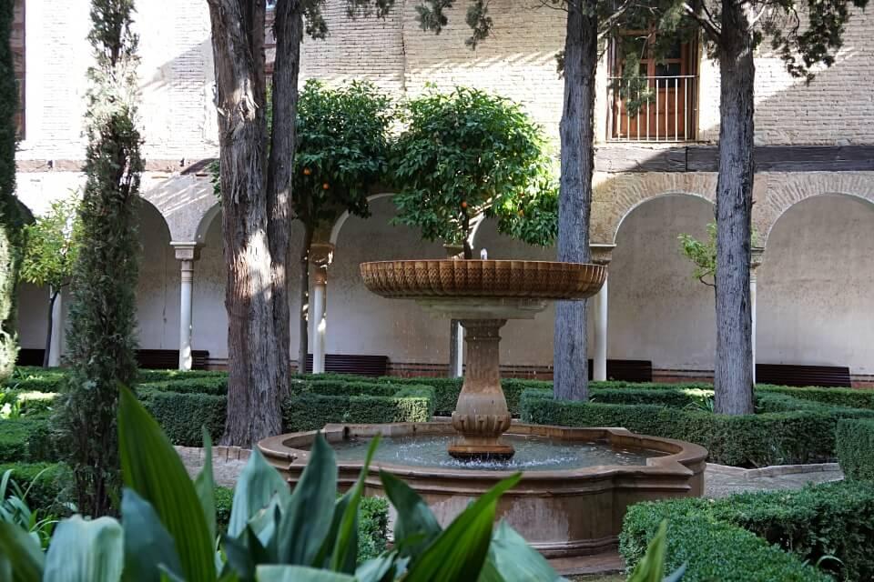 Garten der Alhambra in Granada
