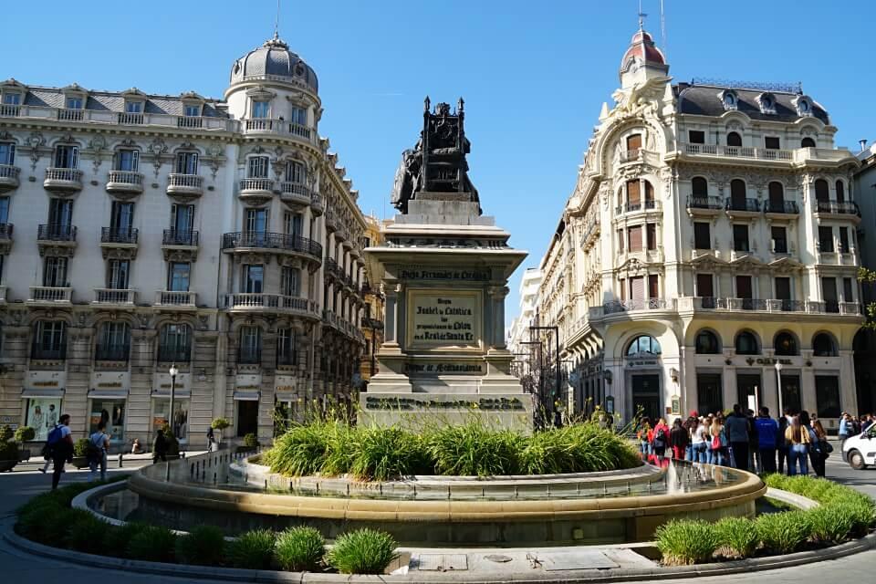 Granada in Andalusien