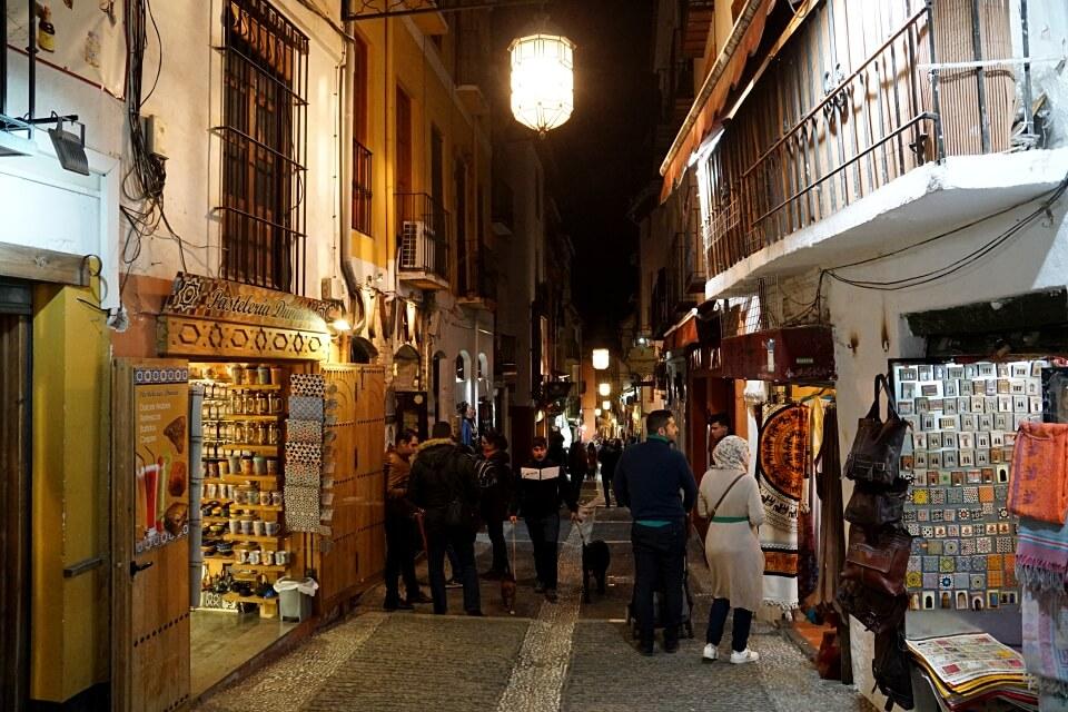 Arabisches Viertel in Granada