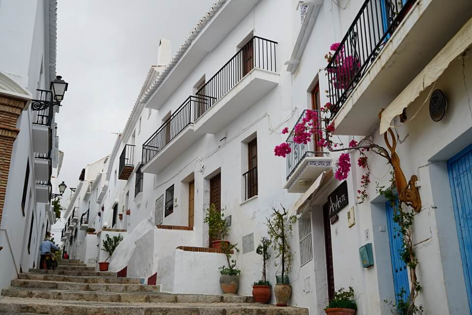 Frigiliana in Andalusien