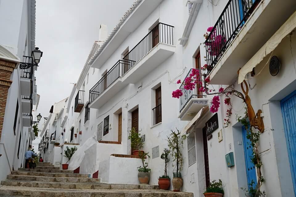 Frigiliana in Andalusien