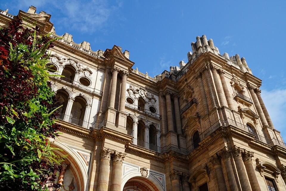 Die Kathedrale von Málaga