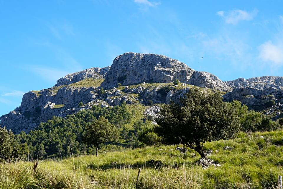 Das Tramuntana Gebirge rund um den Stausee Cuber