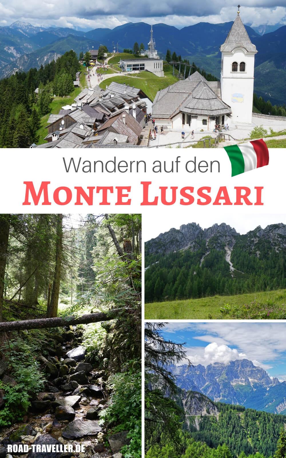Wanderung auf den Monte Lussari im Dreilaendereck Italien, Oesterreich und Slowenien