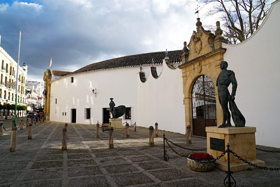 Die Plaza de Toros in Ronda