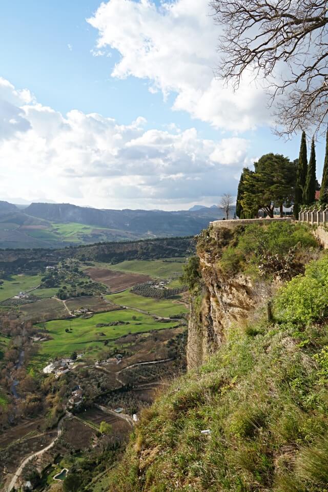 Ronda in Andalusien ist definitiv eine Stadt mit Ausblick