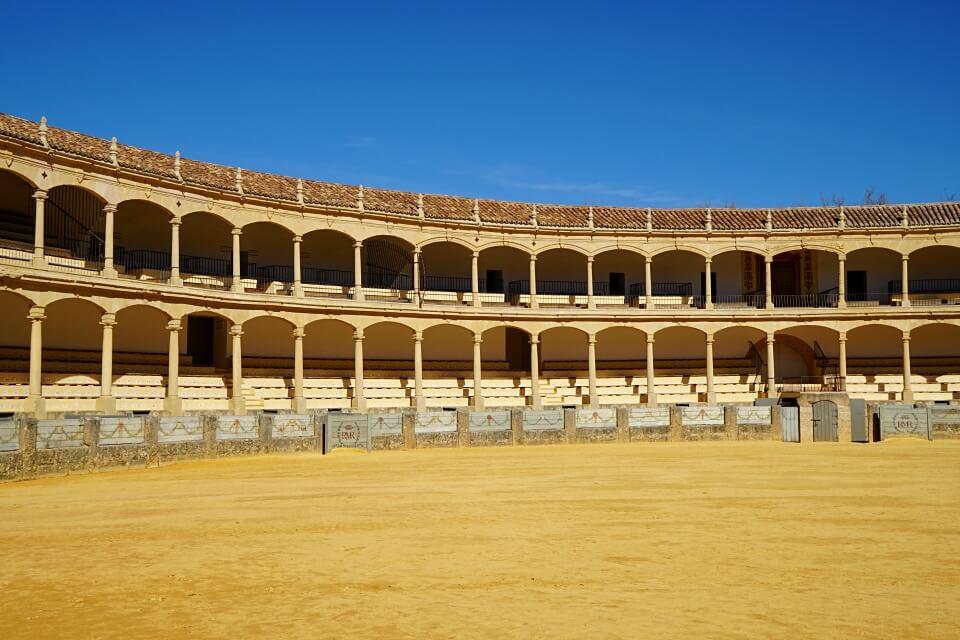 Die Stierkampfarena in Ronda