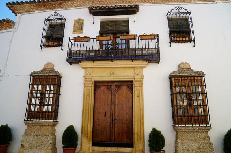 Hausfassade in Ronda