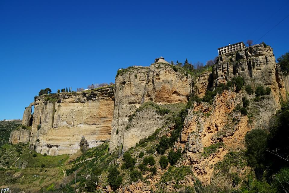 Blick vom Aussichtspunkt auf Ronda