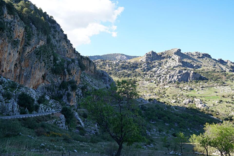 Rundfahrt durch die Sierra e Grazalema in Andalusien