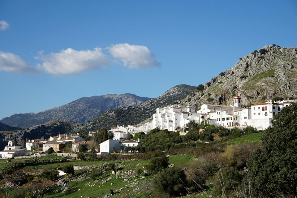 Benaocaz in der Sierra de Grazalema in Andalusien