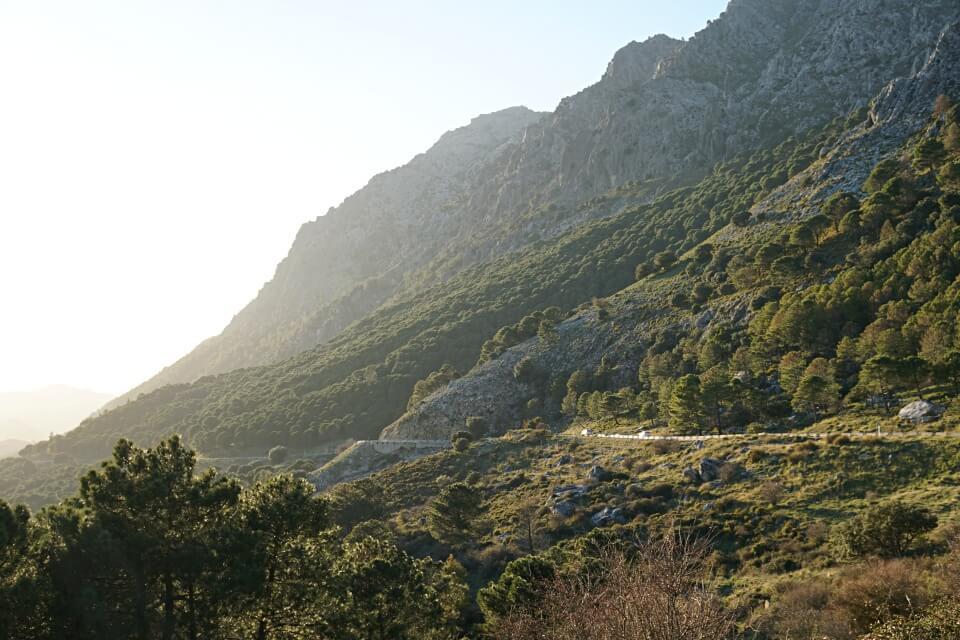 Auf der Rundfahrt durch die Sierra de Grazalema in Andalusien