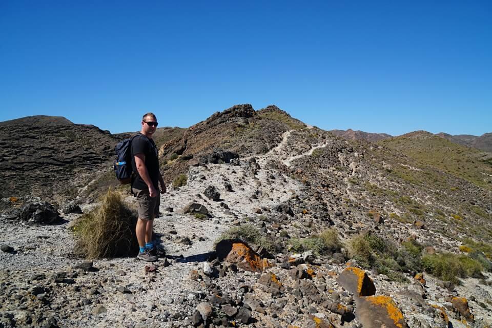 Unsere Wanderung im Naturpark Cabo de Gata auf unserem Andalusien Roadtrip