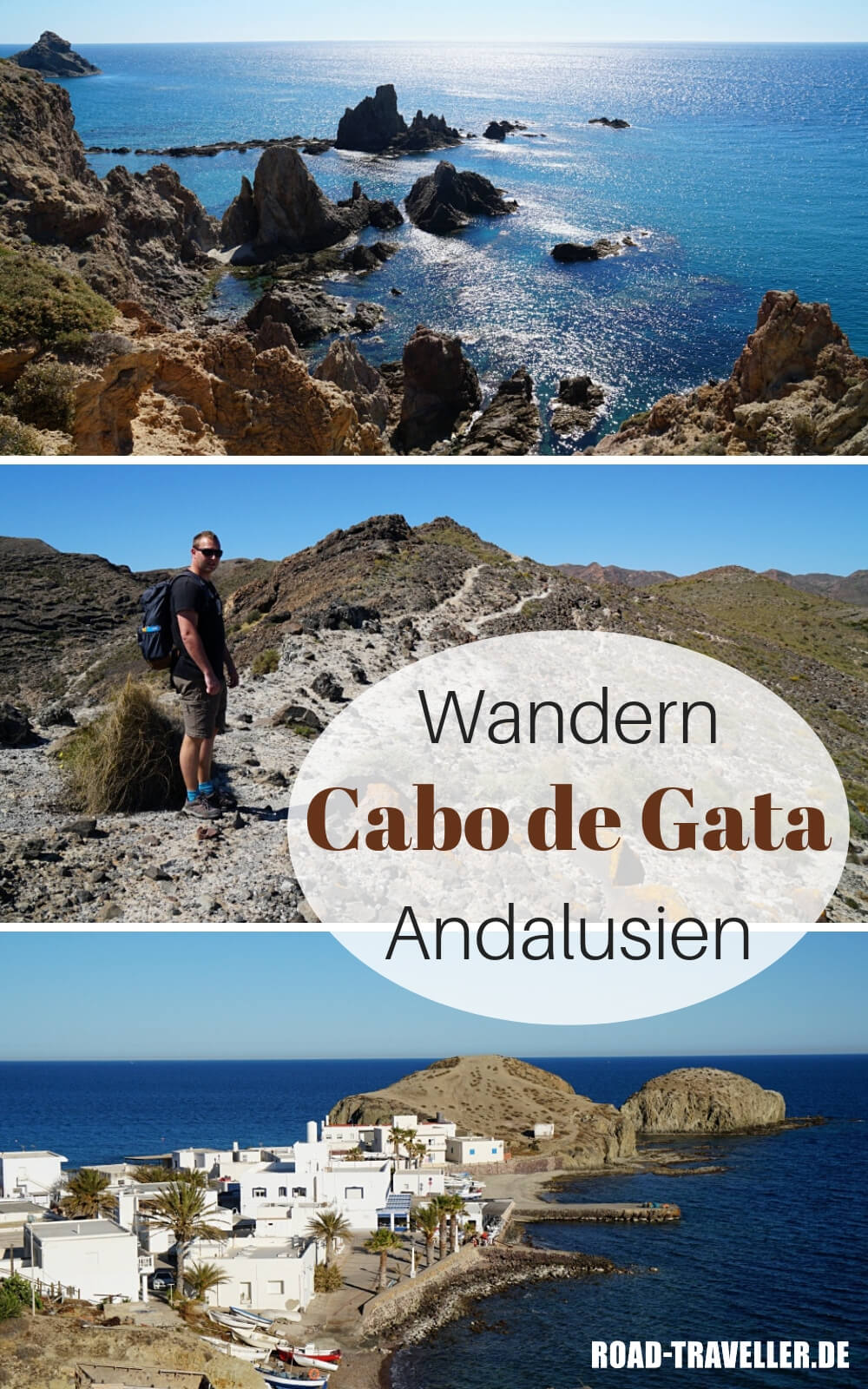 Unsere Wanderung im Naturpark Cabo de Gata in Andalusien