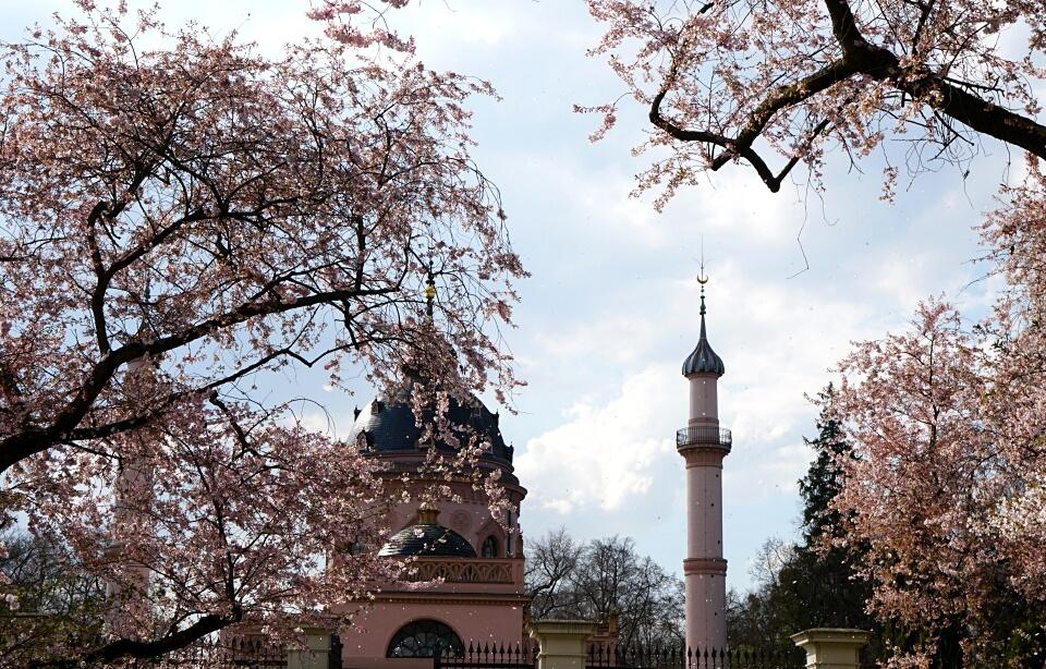 Gartenmoschee Schloss Schwetzingen