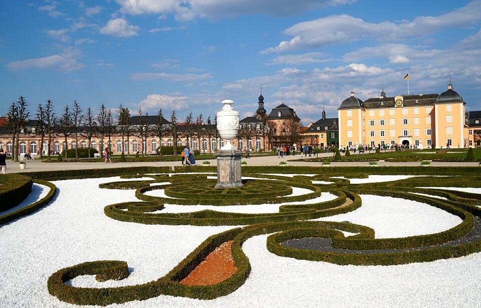 Der Barockgarten von Schloss Schwetzingen