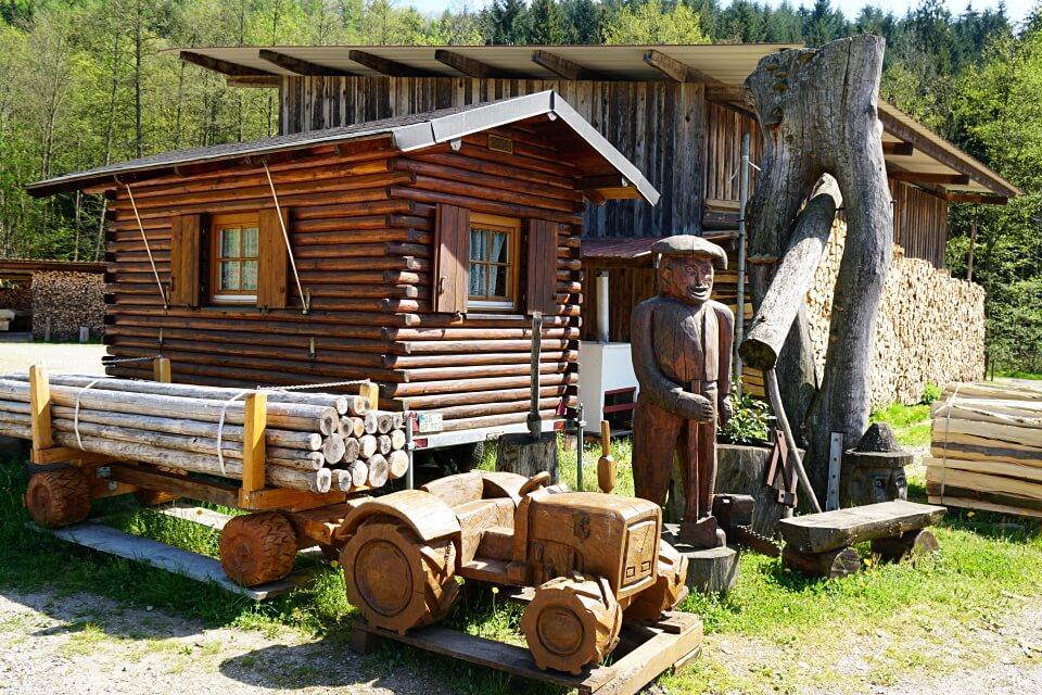Schwarzwaldidylle im Winzerort Oberkirch-Haslach