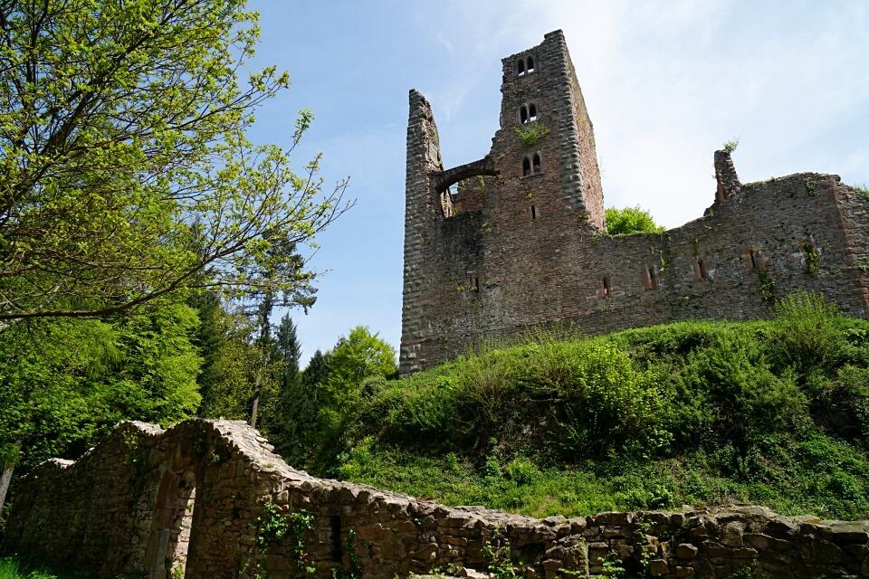 Die Burgruine Schauenburg in Oberkirch