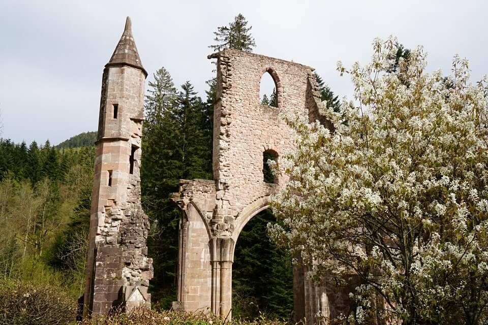 Die Klosterruine Allerheiligen im Nordschwarzwald