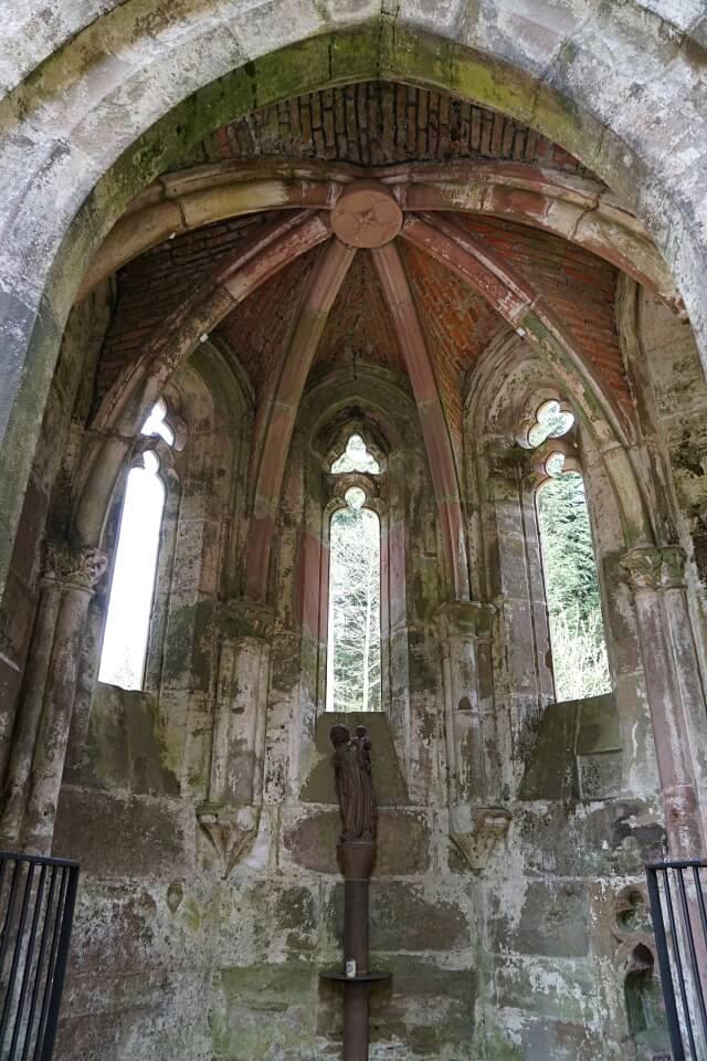 Die Klosterruine Allerheiligen im Nationalpark Schwarzwald