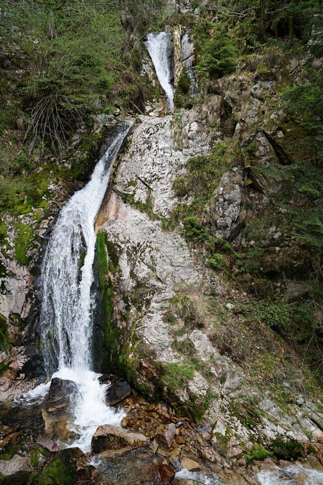 Die Allerheiligen Wasserfaelle im Nationalpark Schwarzwald