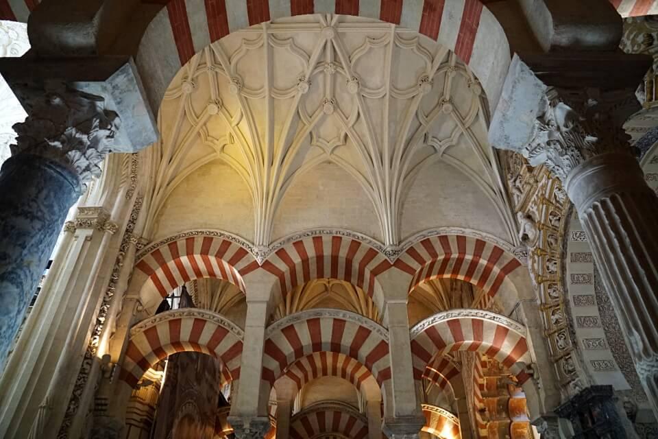 Kirchenschiff in der Moschee Kathedrale von Cordoba