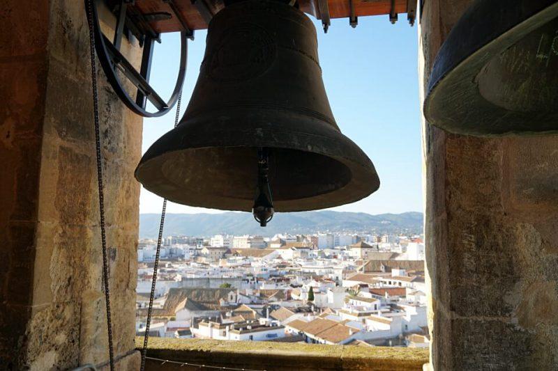 Ausblick vom Glockenturm Torre Campanario in Cordoba