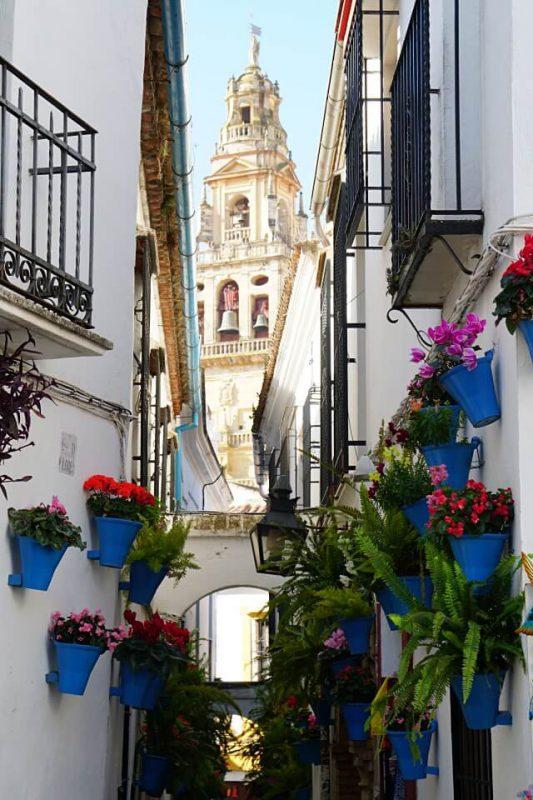 Die Gasse Calleja de las Flores in Cordoba