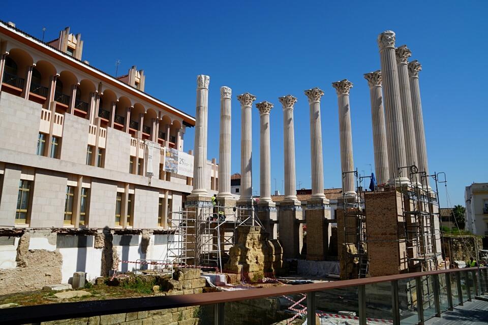 Roemischer Tempel in Cordoba