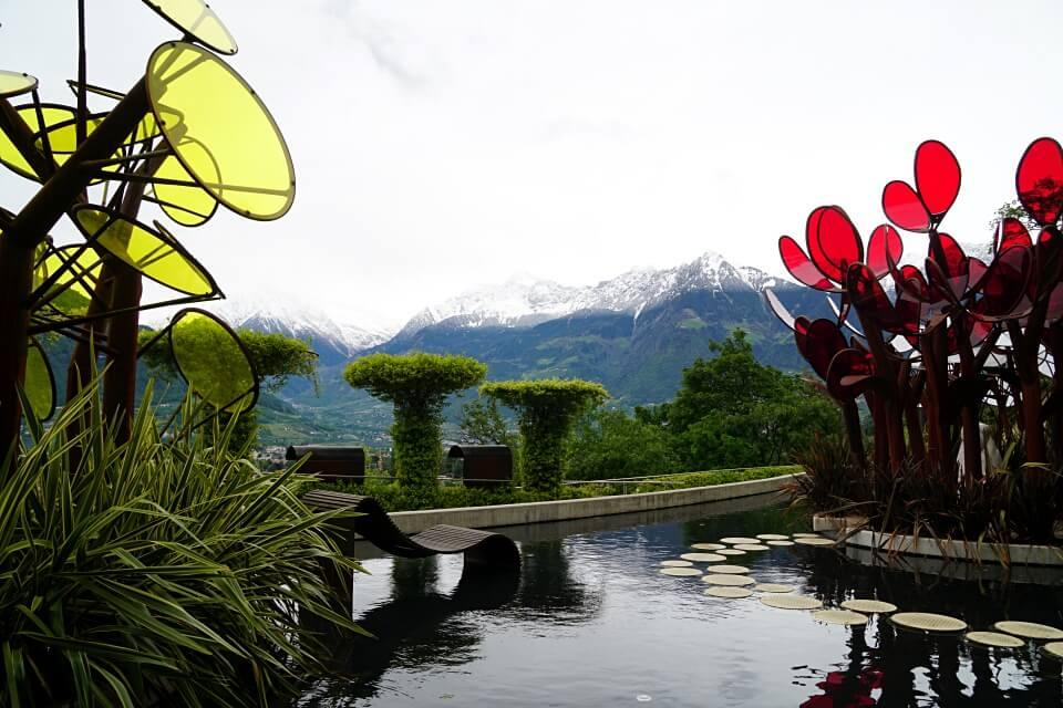Der Garten fuer Verliebte in Schloss Trauttmansdorff