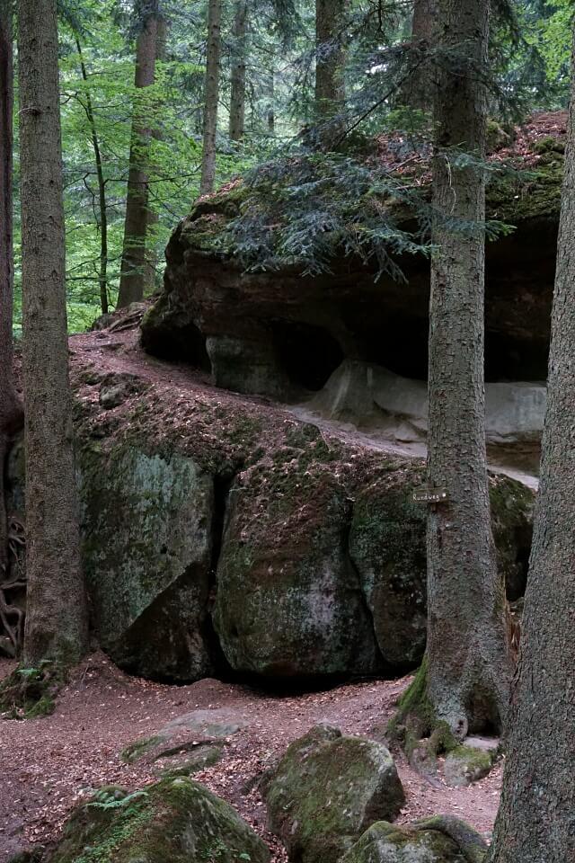 Die Haegelesklinge im Schwaebischen Wald