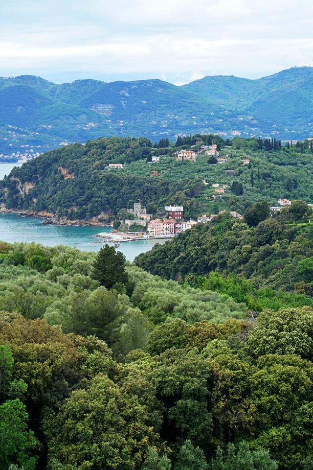 Blick auf den Golf von La Spezia