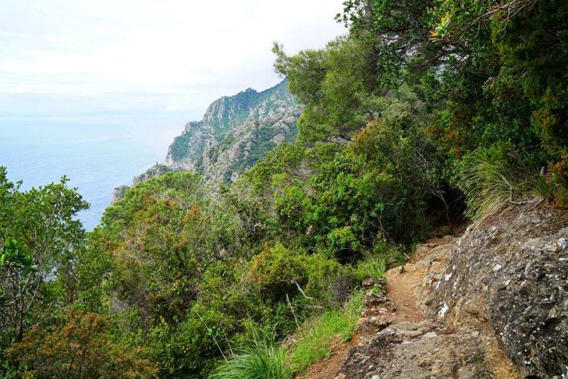 Wanderweg von Portofino nach San Fruttuoso in Ligurien