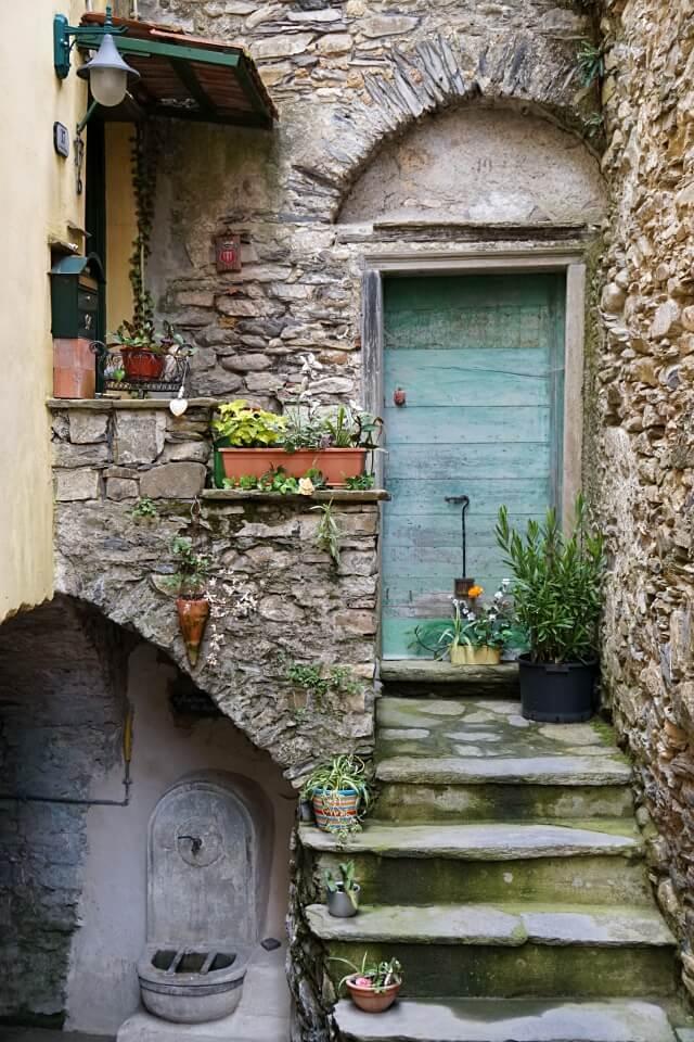 Borgomaro im Hinterland von Imperia in Ligurien