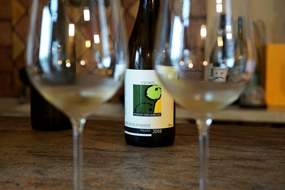 Weinprobe in Imperia Ligurien