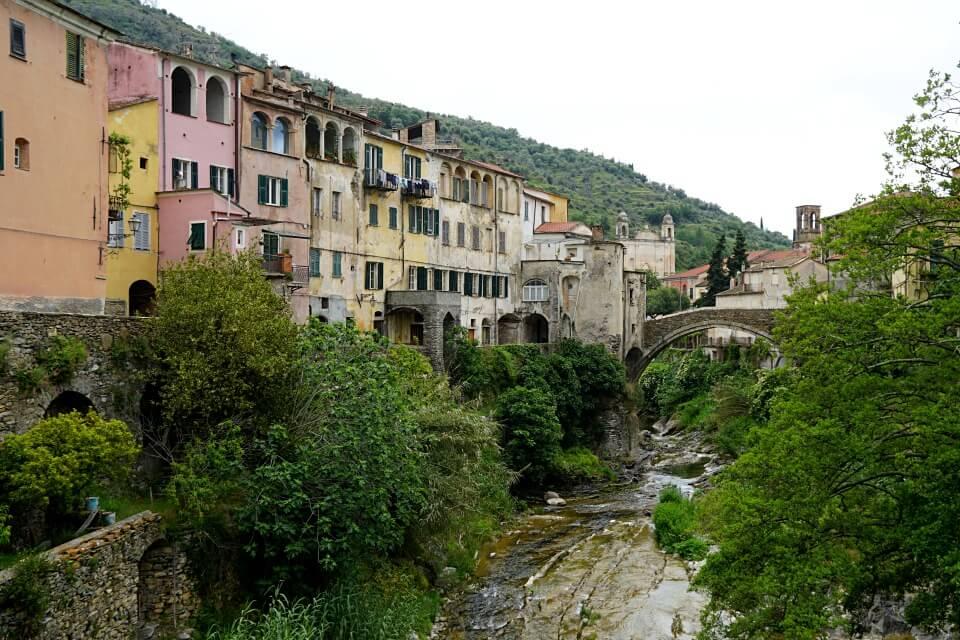 Dolcedo im unbekannten Hinterland von Ligurien