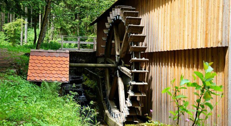 Der Muehlenwanderweg im Schwaebischen Wald in Baden-Wuerttemberg